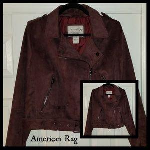 🛑PRICE DROP1🛑 American Rag velvet belted jacket